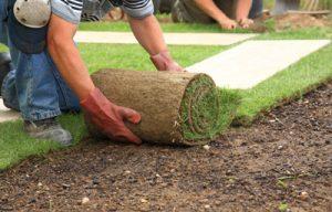 turf laying